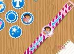 Decore o Relógio da Dora