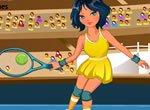 Jogadora de Tênis na Olimpíada